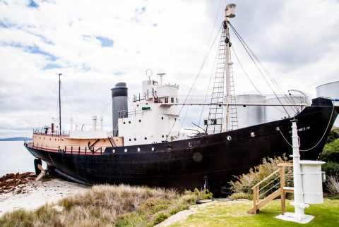 Whaling ship, Albany, Western Australia