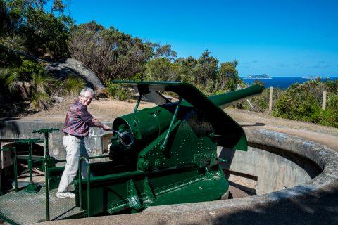 Princess Royal Fortress gun, Albany, WA