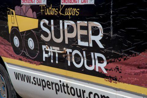 Super Pit tour bus, Kalgoorlie-Boulder, WA