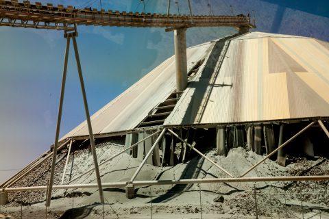 Mineral processing shed, Super Pit, Kalgoorlie-Boulder WA