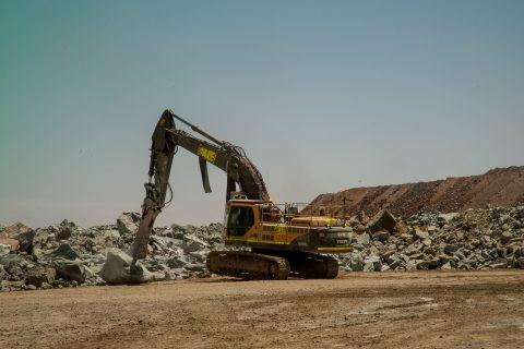 Sorting the spoil, Super Pit, Kalgoorlie-Boulder WA