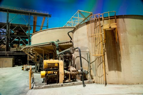 Processing machinery, Super Pit, Kalgoorlie-Boulder WA