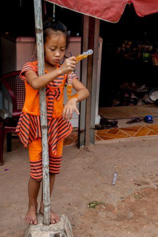 Akha villager, Laos