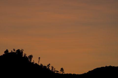 Sunset, Nam Ou River, Laos