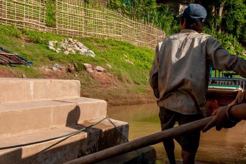 Jetty, Nam Ou River, Nong Khiew, Laos