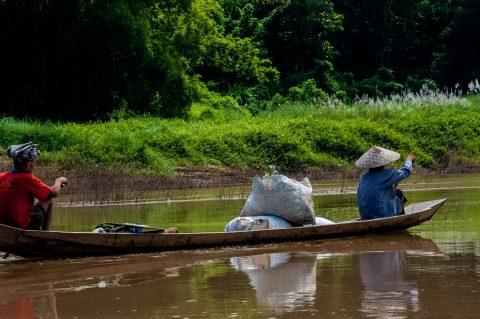 Travelling the Nam Ou River, Laos