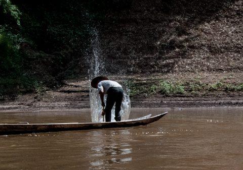 Fishing, Nam Ou River, Laos