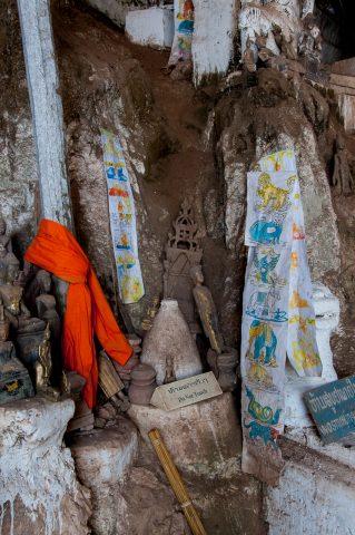 Pak Ou Caves on Nam Ou river, Laos