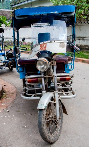 Local transport, Luang Prabang, Laos