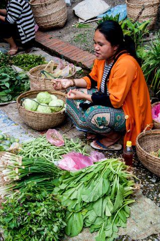 Market, Luang Prabang, Laos