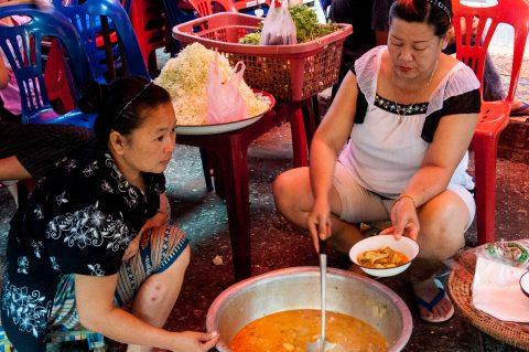 Market food, Luang Prabang, Laos