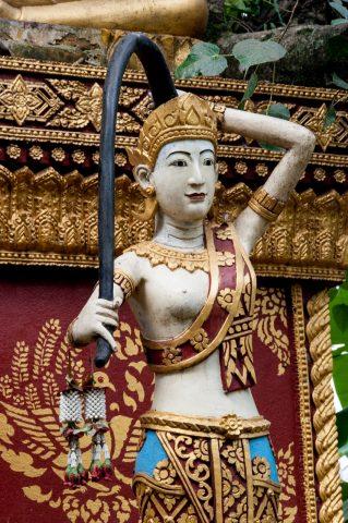 Wat Wisunarat grounds, Luang Prabang, Laos