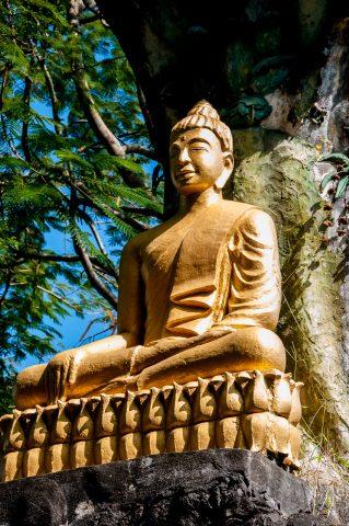 Phi Si Hill temple, Luang Prabang, Laos