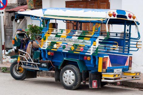 Local bus, Luang Prabang, Laos