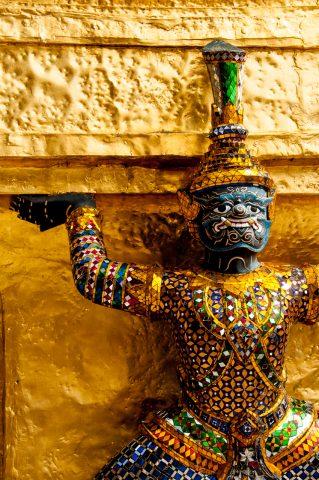 Temple of the Emerald Buddha, Bangkok, Thailand