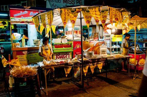 Night Bazaar food stall, Chiang Mai, Thailand