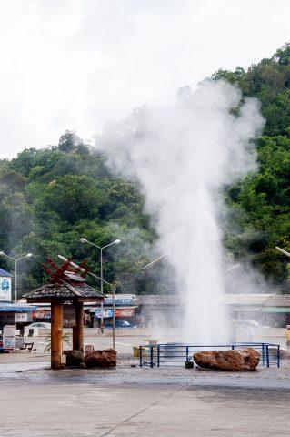 Hot springs near Chiang Mai, Thailand