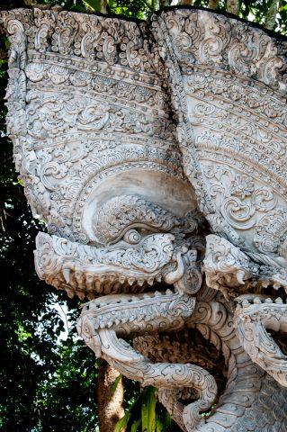 Wat Phra That Pukhao, Chiang Saen, Thailand