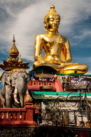 Phra Chiang Saen Si Phaendin,  Golden Triangle, Thailand