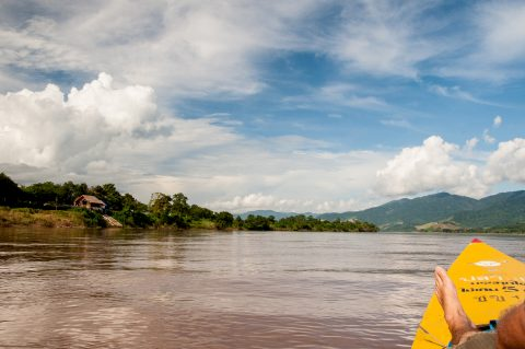Travelling the Mekong in the Golden Triangle, Thailand