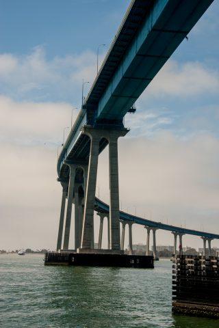Coronado Bay bridge, San Diego, Callifornia