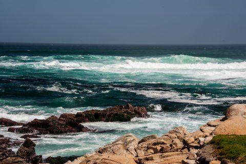 Restless Sea off Point Joe, near Monterey, California