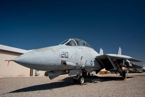 F 14 Tomcat, Estrella Warbird Museum, Paso Robles, California