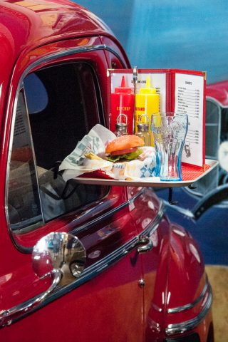 1950s Drive  In Fountain tray, Estrella Warbird Museum, Paso Rob