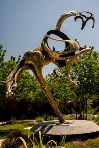 'Balancing Act' by J Jagger, Sculpterra Sculpture Garden, Paso.