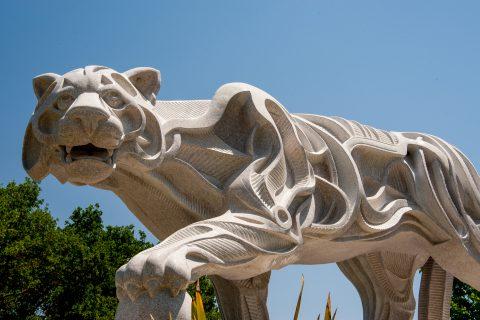 'White Puma' by J Jagger, Sculpterra Sculpture Garden, Paso. Rob
