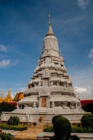 Silver pagoda,, Royal Palace, Phnom Penh