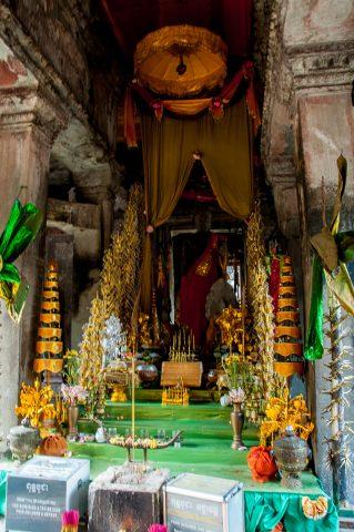 Offerings in Angkor Wat
