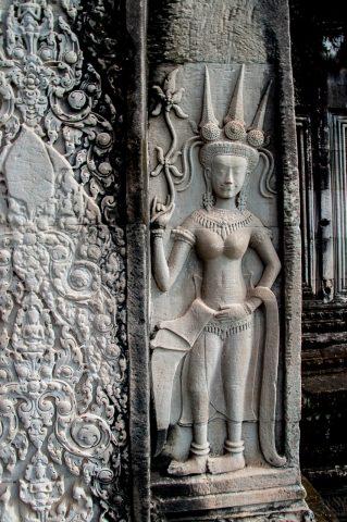 Decoration, Angkor Wat