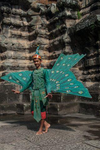 Dance troupe, Angkor Wat