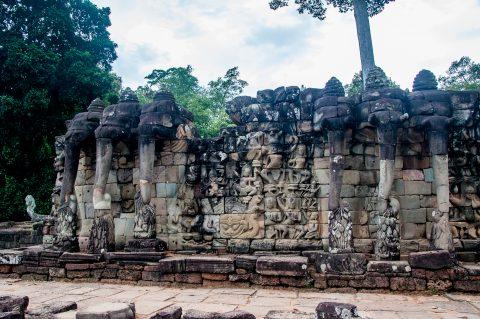 Terrace of Elephants, Angkor Wat