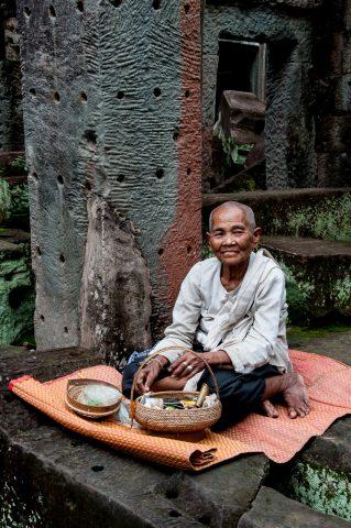 Guardian, Preah Khan, Angkor Wat
