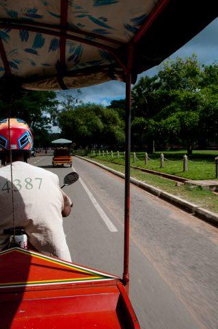 driving in Siem Reap