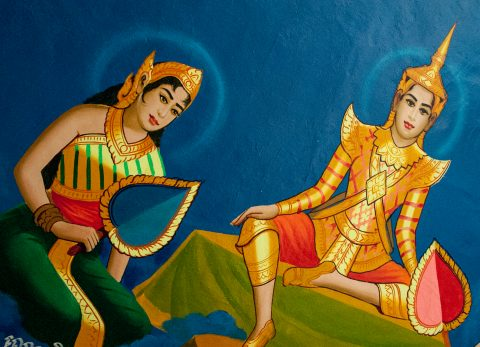 Decoration, Temple near Siem Reap