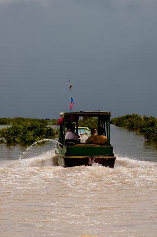 On Tonle Sap Lake, near Siem Reap
