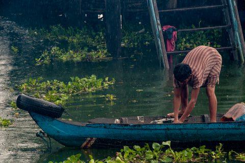 Floating village, Tonle Sap Lake, near Siem Reap
