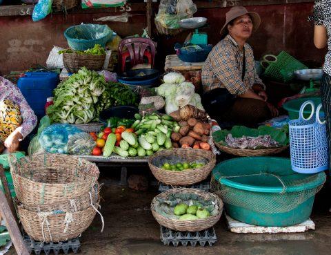 Market, Battambang