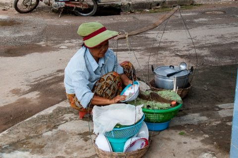 Street food, Battambang