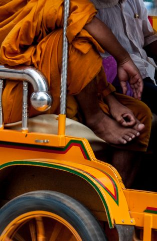 Local taxi, Battambang