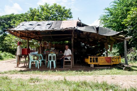 Station, Bamboo train, Battambang