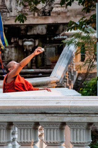 Udong pagodas monk