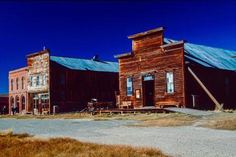 Main Street, Bodie Ghost Town, Cal (1999)