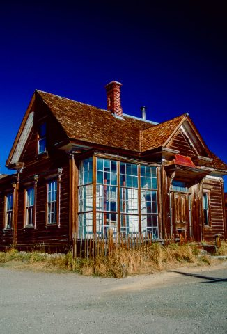 J S Cain House, Bodie Ghost Town, Cal (1999)