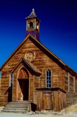 Methodist church, Bodie Ghost Town, Cal (1999)