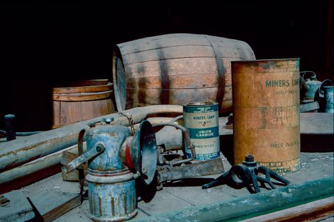 Display, Bodie Stores, Bodie Ghost Town, Cal (1999)