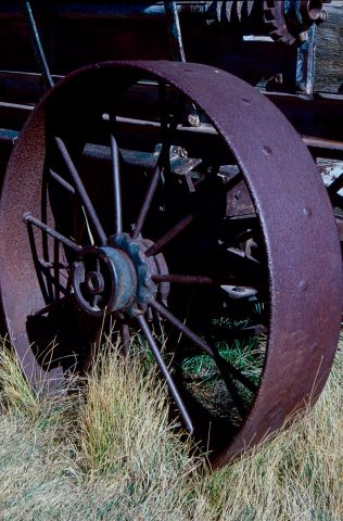 Old machinery, Bodie Ghost Town, Ca (1999)l